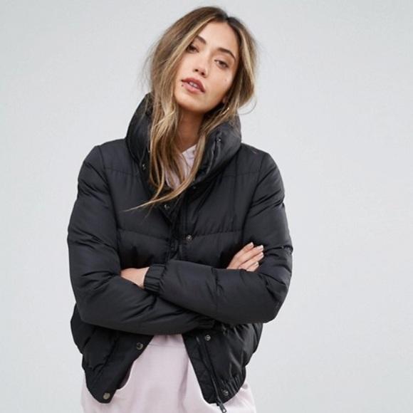 d07cdd987b17 ASOS Jackets & Blazers - Brave Soul ASOS short Padded Jacket in Black